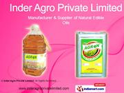 Agron Kachi Ghani Mustard Oil By Inder Agro Private Limited Delhi