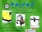 Diesel Generator Rental By Edison Gentech Private Limited Chennai