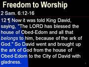 Freedom to Worship