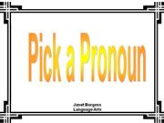 Basic Pronouns