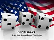 SPORTS BETTING ON THE US BUSINESS PPT TEMPLATE