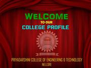 our college profile priyadarshini