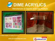 Acrylic Furniture By Dime Acrylics Pune