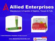 Facial Tissue Boxes By Allied Enterprises Ghaziabad