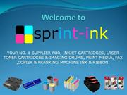 Welcome to Sprint- Ink