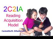 2C2IA Reading Acquisition Model