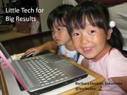 Little Tech for Big Results (Pusan)