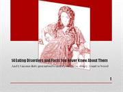 14 Eating Disorders and Facts You Never Knew