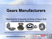 Double Helical Gears By Gear Manufacturers Greater Noida