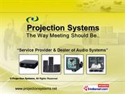 Audio Systems By Projection Systems Delhi