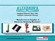 Commercial Scales By Alexandra Scale Private Limited Ahmedabad