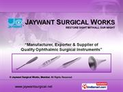 Surgical Instruments By Jaywant Surgical Works Mumbai