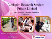 Quantitative Research By Verbatim Research Services Private Limited