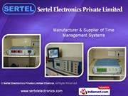 Process Control Instruments By Sertel Electronics Private Limited