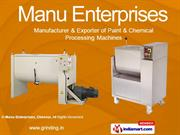 Grinding Mills And Machineries By Manu Enterprises, Chennai Chennai