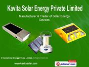 Solar Home Lights By Kavita Solar Energy Private Limited New Delhi