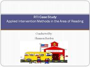 RTI Case Study presentation