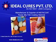 Specialty Products By Ideal Cures Pvt. Ltd. Mumbai