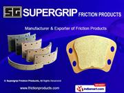 Clutch Plates By Supergrip Friction Products Jhajjar