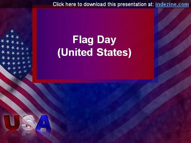 american flag day powerpoint presentation |authorstream, Powerpoint templates