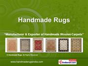 Oushak Carpet By Handmade Rugs Jaipur
