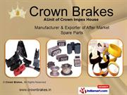 Disc Pad By Crown Brakes New Delhi