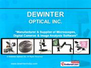 Industrial / Metallurgical Microscopes By Dewinter Optical, Inc. New