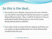 Discount Dental Plan or Dental Insurance Review