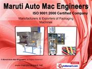Granule & Snacks Pouch Packing Machine By Maruti Auto Mac Engineers,