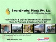 Solvent Extraction Units By Swaraj Herbal Plants Pvt. Ltd. Barabanki