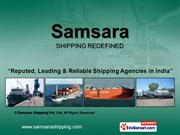 Container Liner Services By Samsara Shipping Pvt. Ltd Rajkot
