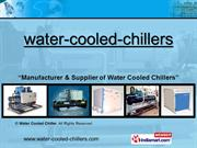 Water Cooled Chillers By Water Cooled Chiller Noida