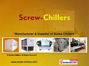 Air Cooled Chillers By Screw Chillers Noida