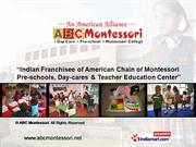 Montessori Educational Services By Abc Montessori Chandigarh