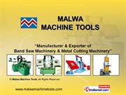 Vertical Band Saw Machine By Malwa Machine Tools Dewas