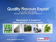 Menthol Powder By Quality Flavours Export Moradabad
