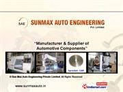 Sheet Metal Components By Sun Max Auto Engineering Private Limited