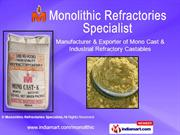 Refractory Bricks By Monolithic Refractories Specialist Ahmedabad