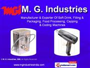 Food And Soft Drink Machines By M. G. Industries, Cbe Coimbatore