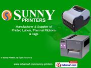 Printed Labels By Sunny Printers Ahmedabad