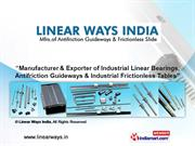 Linear Motion Guides & Blocks By Linear Ways India Panchkula