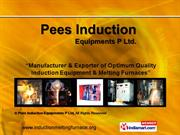 Induction Coils By Pees Induction Equipments P Ltd Chennai