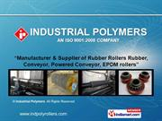 Industrial Rollers By Industrial Polymers Nashik