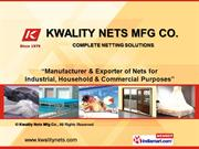 Safety Nets By Kwality Nets Mfg Co. Mumbai