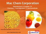 Food Chemicals By Mac Chem Corporation Mumbai