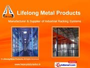 Pallet Racking System By Lifelong Metal Products Chennai
