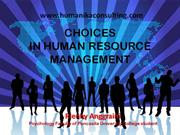 choice in hrm change
