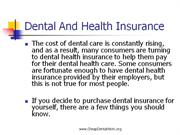 Dental And Health Insurance