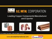 Tinned Copper Connectors With Solid Barriers By Dc Metal Corporation,