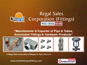 Butt-Weld Fittings By Regal Sales Corporation (Fittings) Mumbai